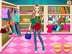 Fashion Doll Shopping Day