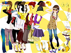 Autumn Season Dress Up