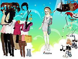 Young Girl Dress Up