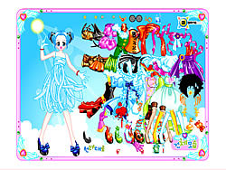 Candy Dress Up 2