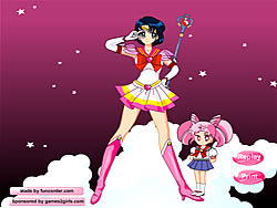 Sailor Moon Dressup